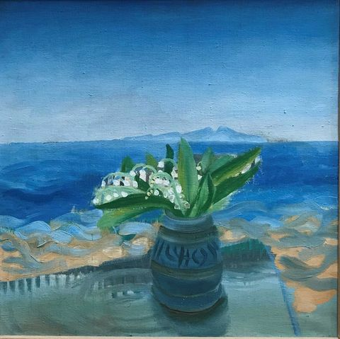 'Lily of the Valley' by Winifred Nicholson
