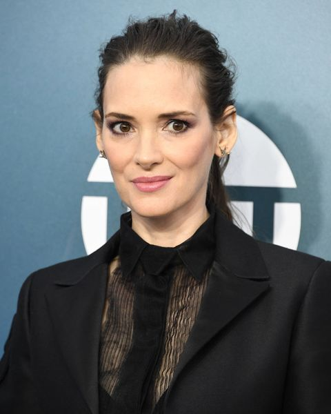 los angeles, california   january 19 winona ryder arrives at the 26th annual screen actorsguild awards at the shrine auditorium on january 19, 2020 in los angeles, california photo by steve granitzwireimage