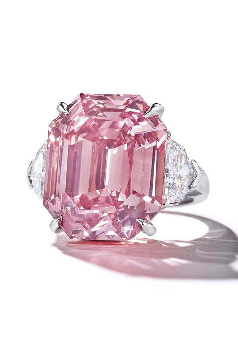 record breaking jewellery   the winston pink legacy ring