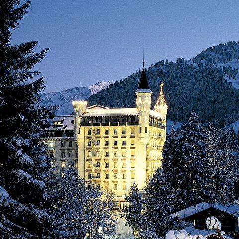 Snow, Winter, Freezing, Landmark, Tree, Building, Architecture, Sky, Home, Frost,