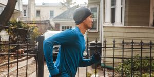 Winter and fall running clothes