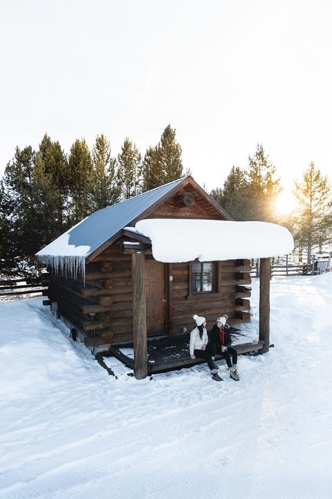 winter cabin rentals triangle c