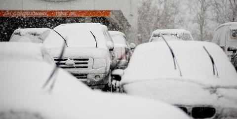 snow, motor vehicle, winter, blizzard, winter storm, freezing, automotive exterior, automotive design, tree, vehicle,