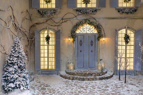 Winter christmas decoration.