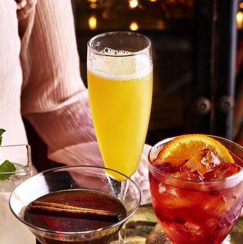 best christmas cocktail recipes orange fizz cocktail