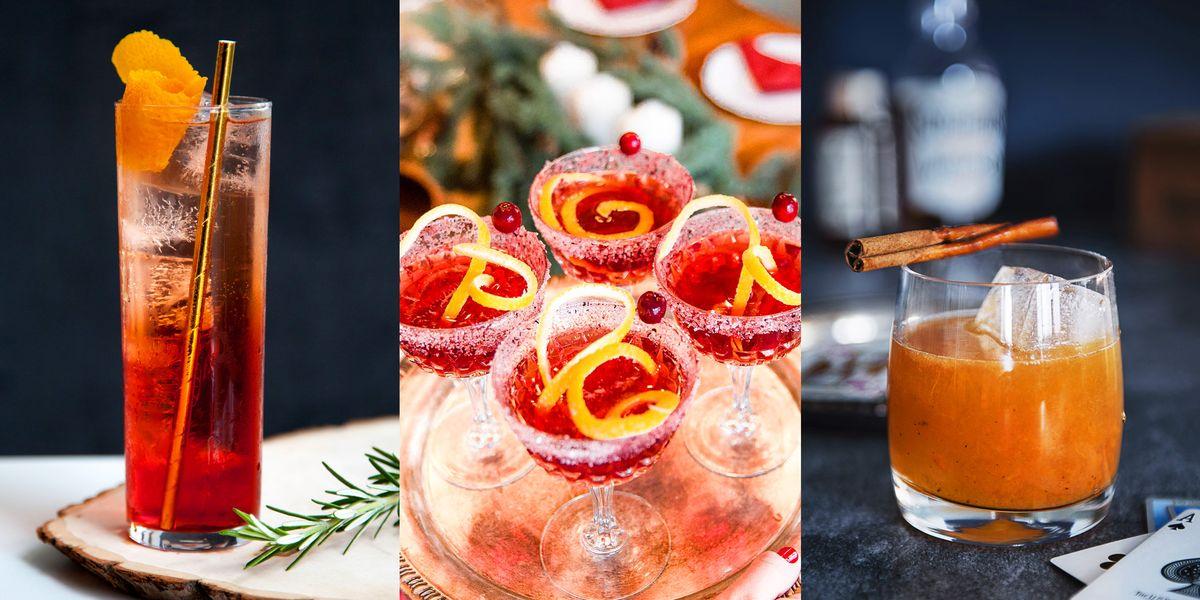 Holiday Alcoholic Drink Recipes