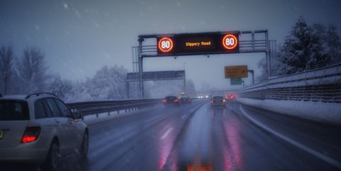 Winter Driving Conditions