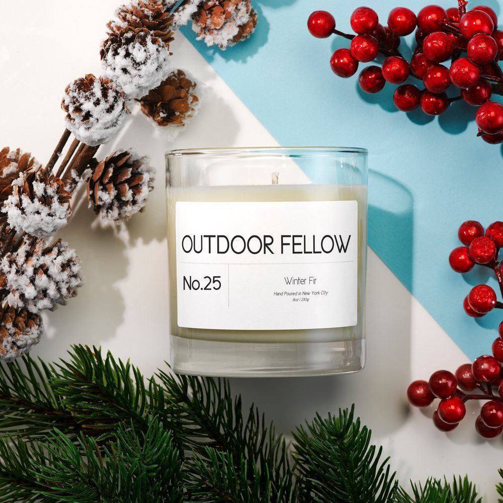 Outdoor Fellow's Winter Candles Are Currently 60 Percent Off