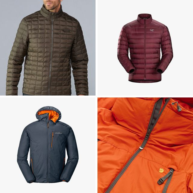 four winter jackets