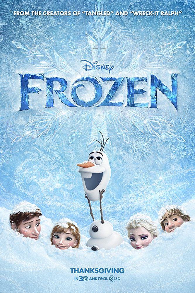winter movies frozen