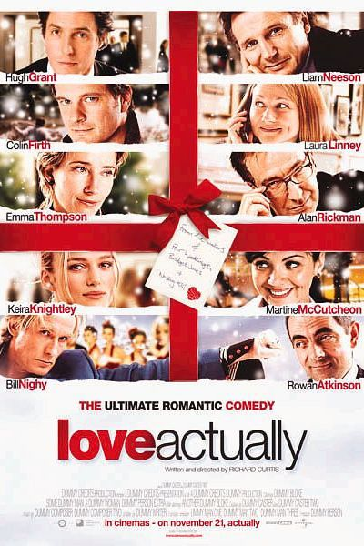 winter movies love actually