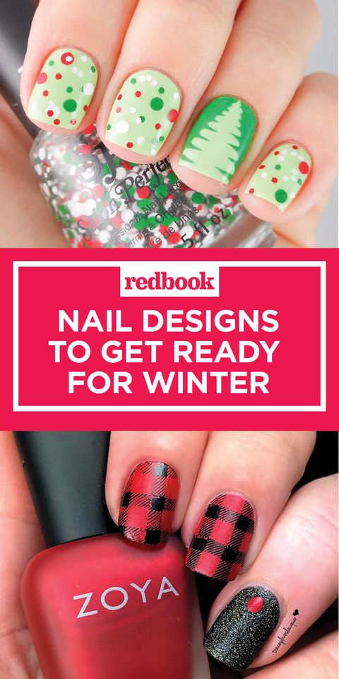 12 Crazy Cool Nail Designs To Get You Ready For Winter - Cool Winter Nail Art - Winter Nail Art Design Ideas