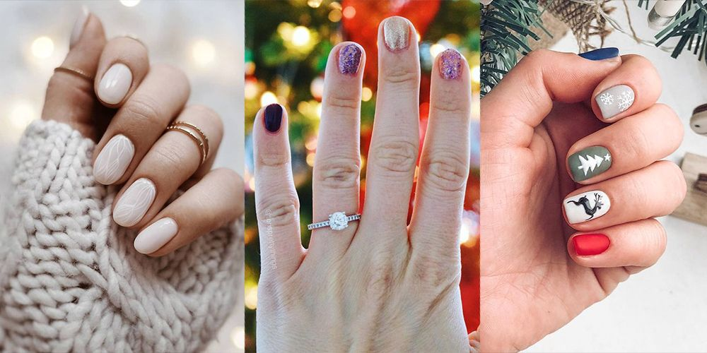 20 Best Winter Nail Designs , Best Winter Nail Ideas 2019