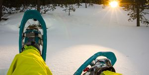rutas raquetas nieve