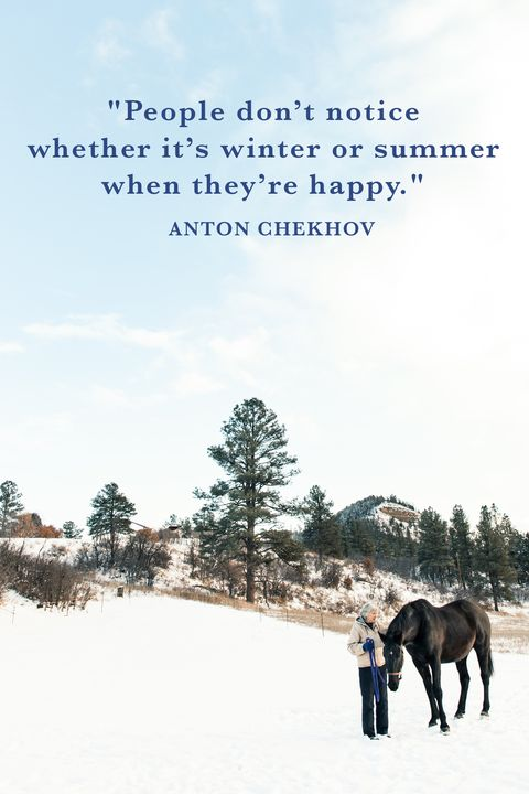 chekhov winter quotes