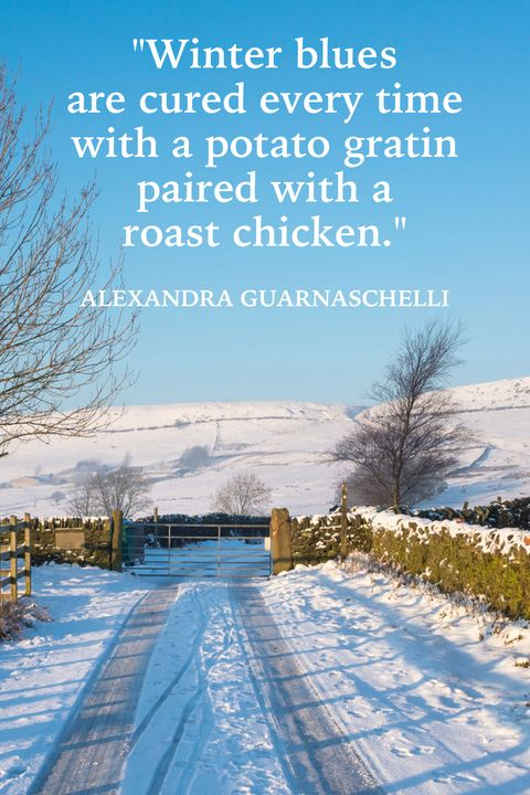 Winter Quotes Alexandra Guarnaschelli