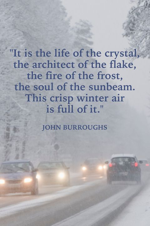Winter Quotes John Burroughs