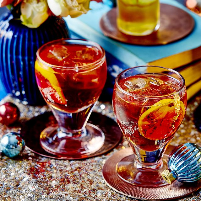 best cocktail recipes spiced negroni