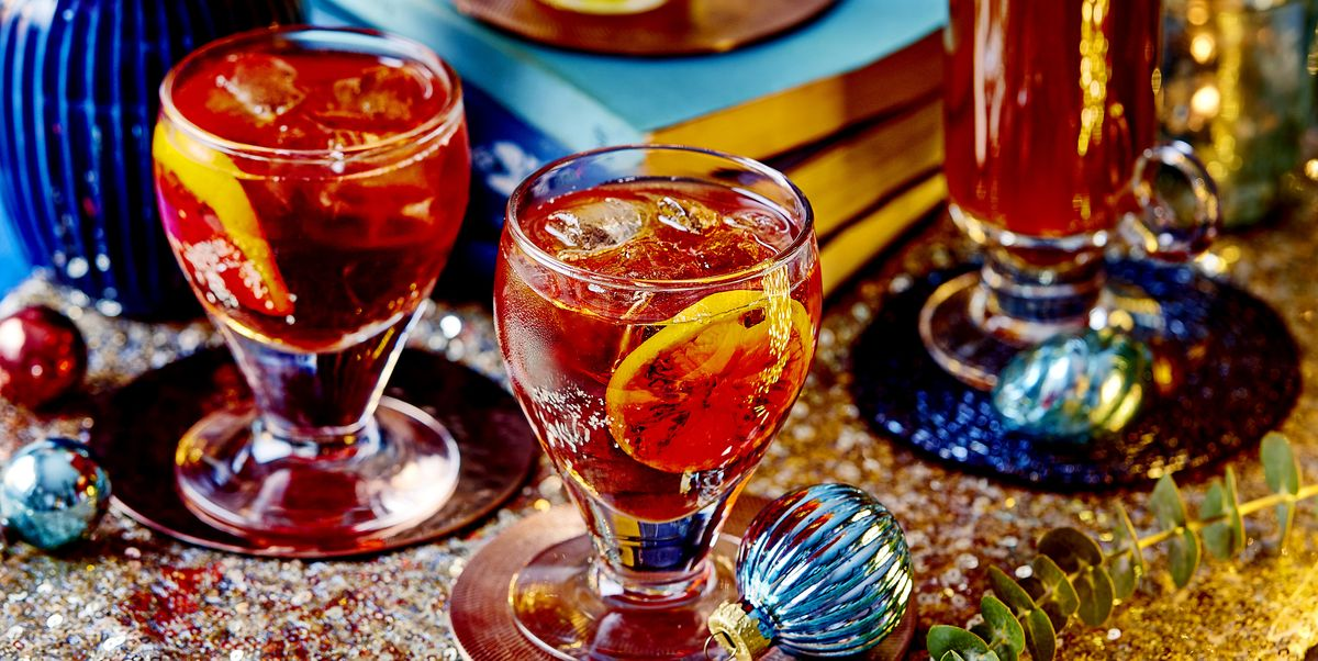 Winter Spiced Negroni Cocktail