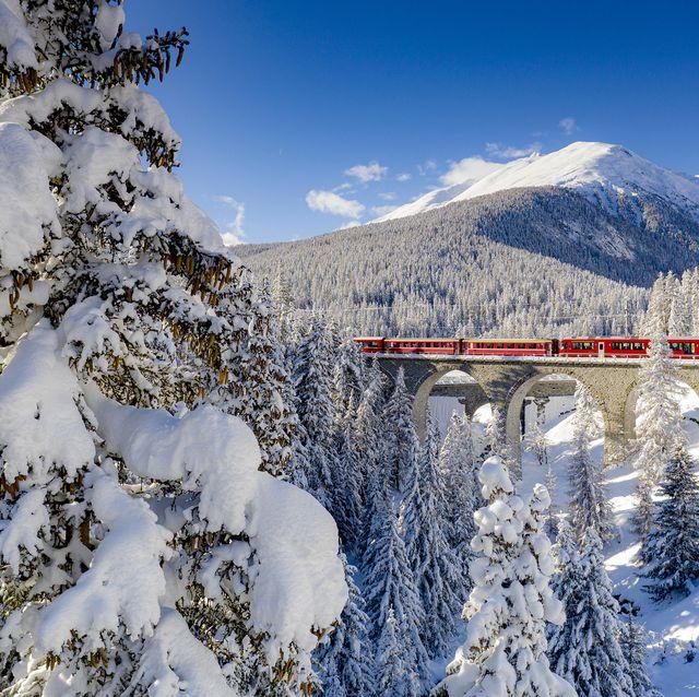 winter train journeys europe