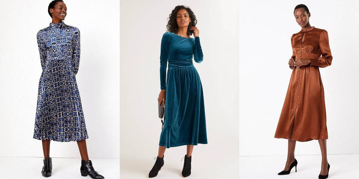 12 Chic Winter Wedding Guest Dresses To Wear This Year