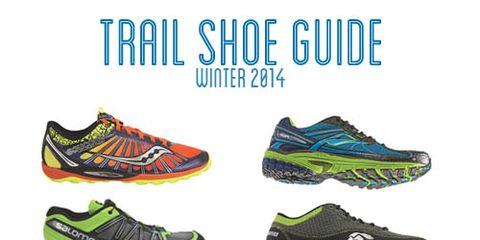 Running Times 2014 winter trail shoes