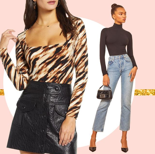 The 21 Best Bodysuit Outfits How To Wear A Bodysuit