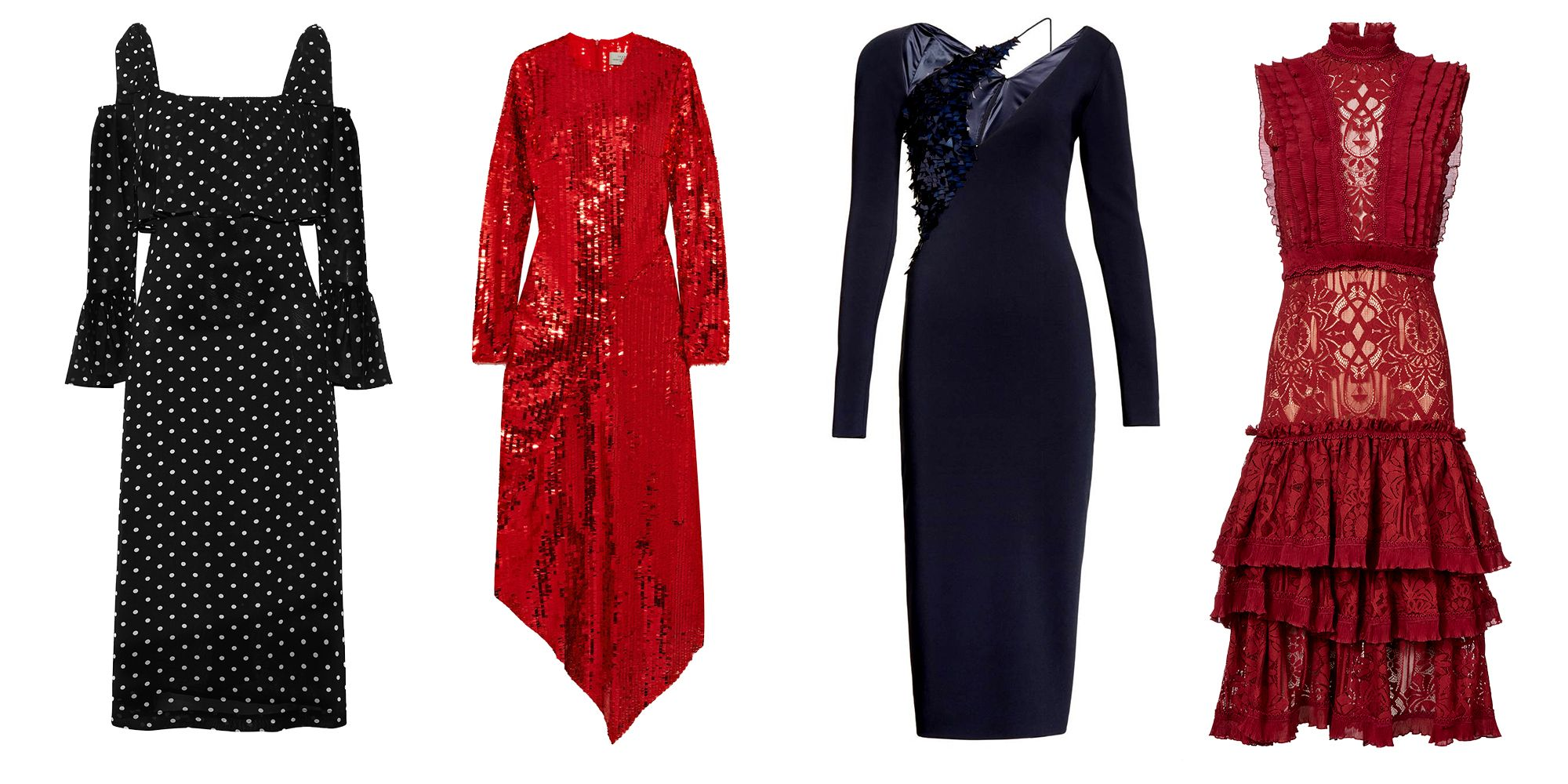 Dress For A Winter Wedding In Jewel Tone Velvets, Long Sleeves, Heavy  Embroidery, And Everything Else You Couldnu0027t Get Away With At A Sweltering  July ...
