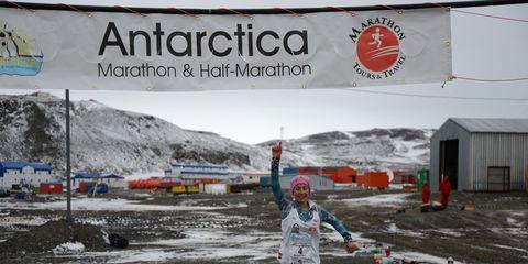 Youngest Antarctica Marathon