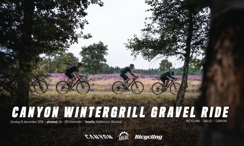 Inschrijving Canyon Wintergrill Gravel Ride geopend!