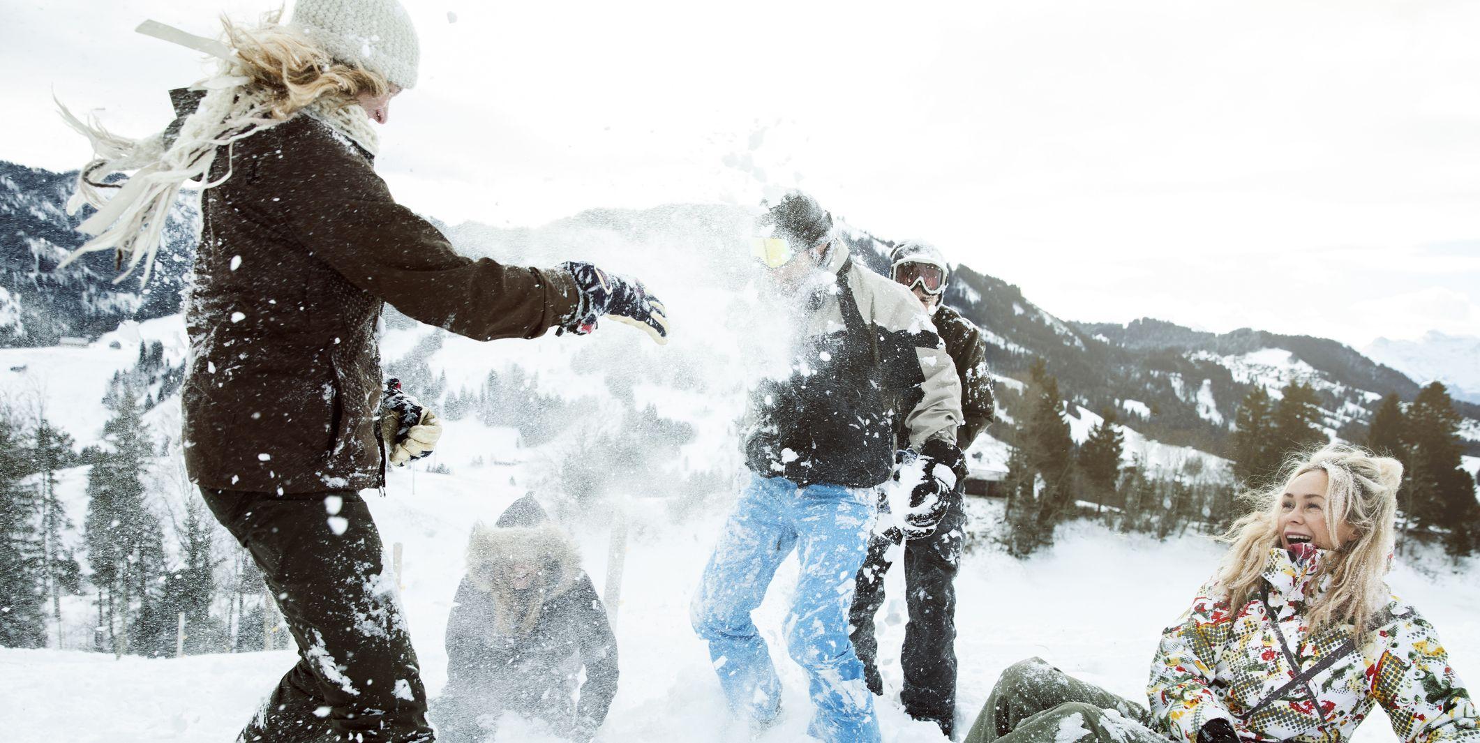 Wintersport skigebieden