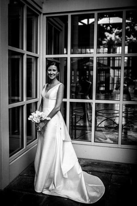 Photograph, White, Gown, Black, Wedding dress, Bride, Dress, Black-and-white, Clothing, Monochrome photography,