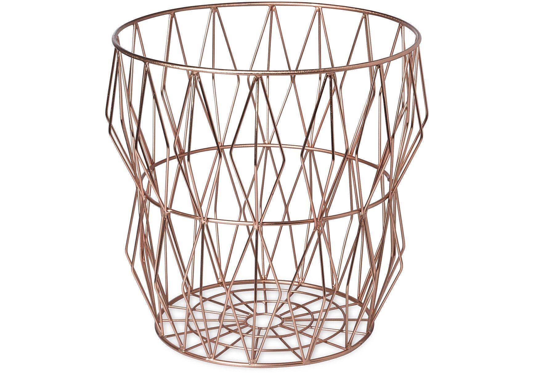 Wire Angle CopperBin, Oliver Bonas