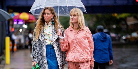 Street Style - New York Fashion Week September 2018 - Day 5