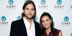 demi moore, miskraam, ashton kutcher, celebrities, openhartig