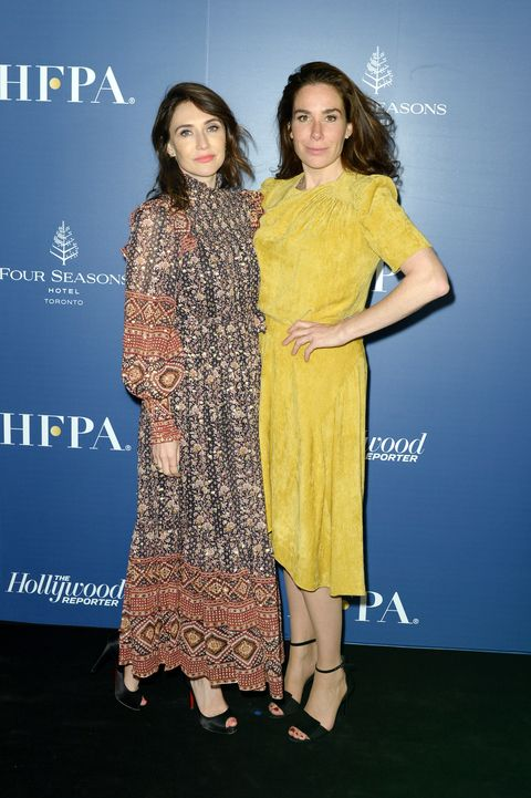 The Hollywood Foreign Press Association And The Hollywood Reporter Party At 2019 Toronto International Film Festival - Red Carpet