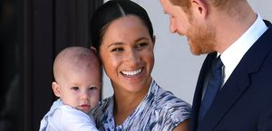 baby archie, zuid afrika, meghan markle, prins harry