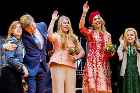 Koningin Maxima, koningsdag 2018, groningen