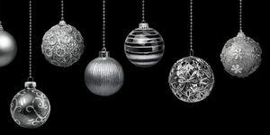 bereken hoeveel kerstballen je boom nodig heeft