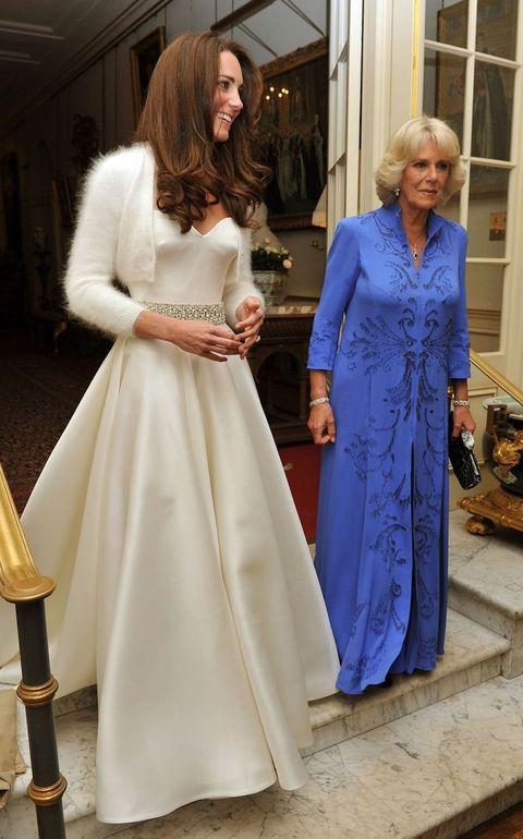 Tweede Huwelijk Trouwjurk.Kate Middleton Droeg Een Tweede Bruidsjurk Op Haar Huwelijksdag