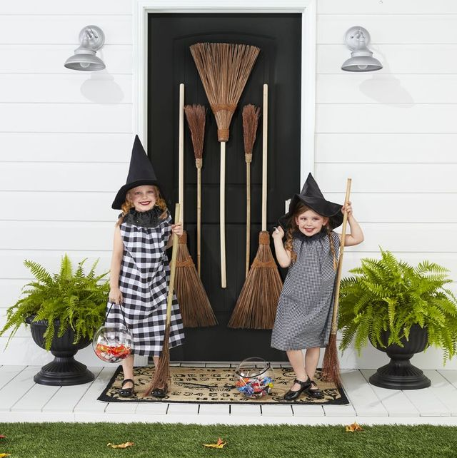 twin witch halloween costumes