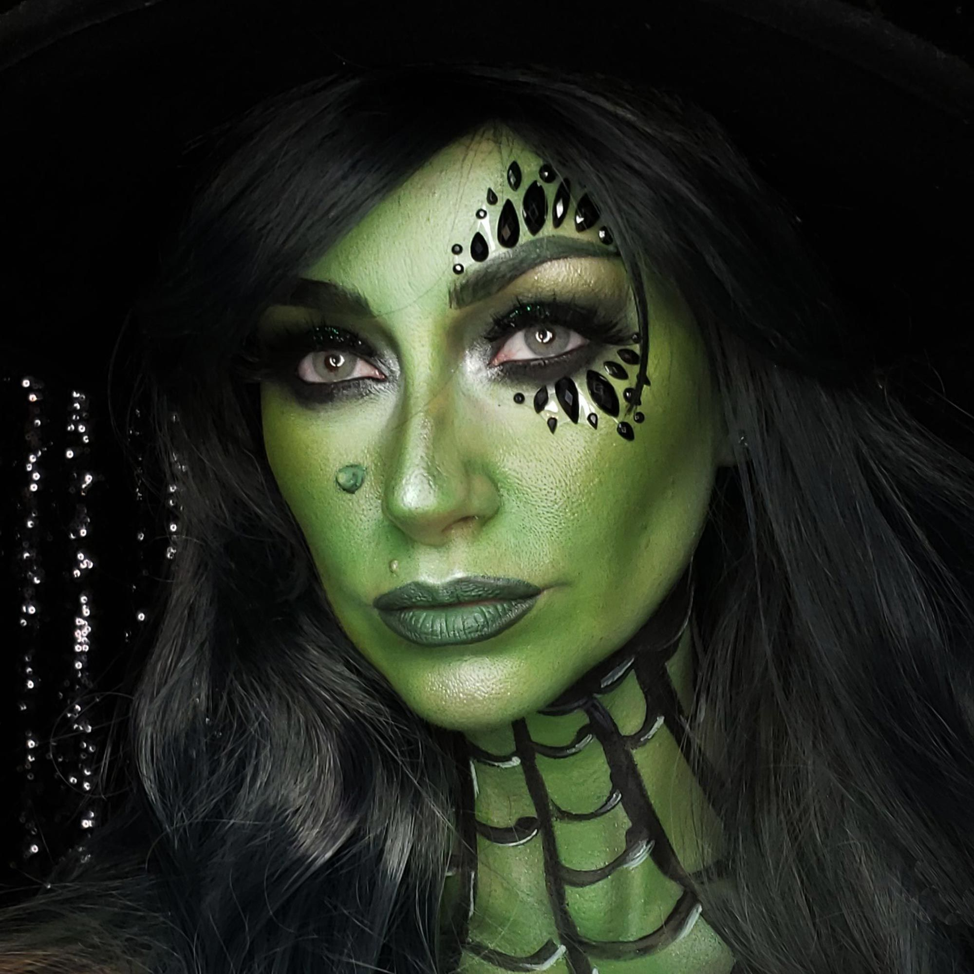 You'll Have the Most Popular Halloween Costume With This Wicked Witch Makeup Look