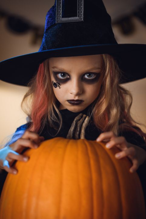 18 Witch Makeup Ideas Spooky Halloween Face Paint Looks