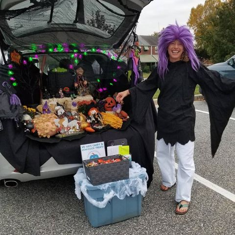 witchy trunk or treat