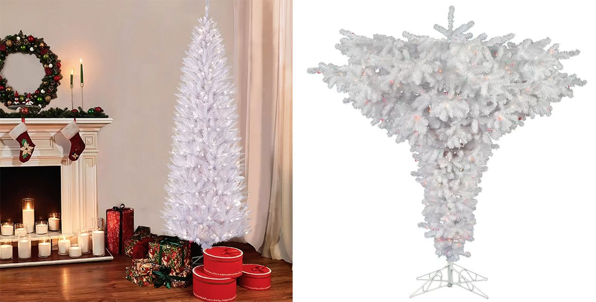 14 Beautiful White Christmas Trees That Will Take Your Breath Away