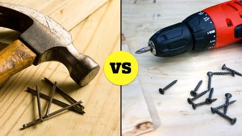 Types of Fasteners | Screws vs  Nails