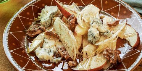 witlof salade met appel en gorgonzola