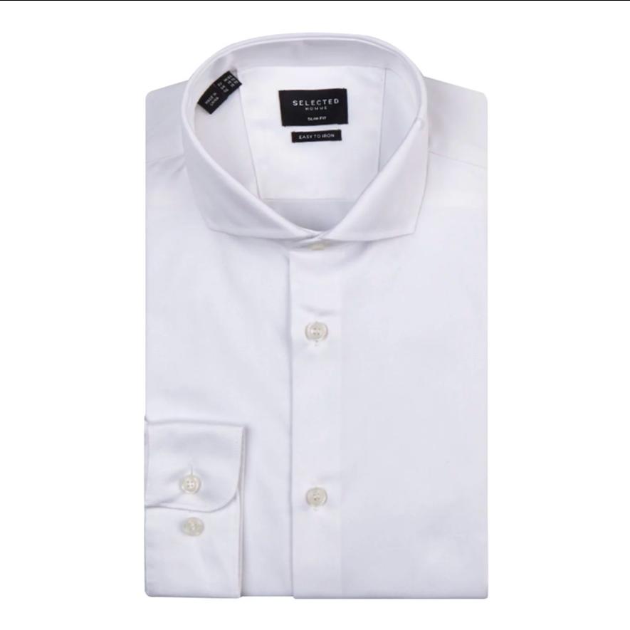 wit-overhemd