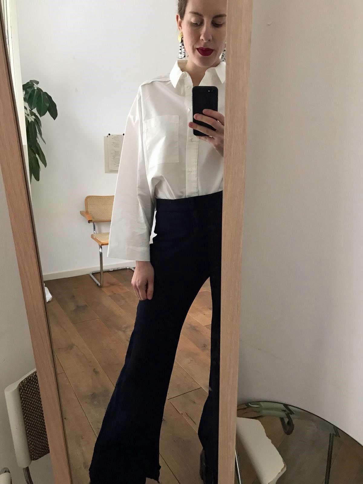 ELLE, #OOTD, witte bloes