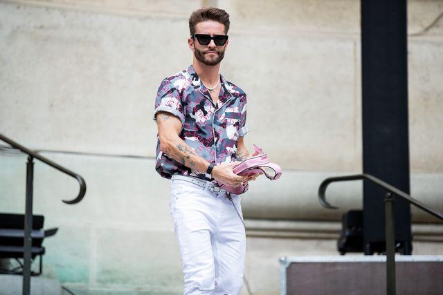 witte spijkerbroek heren